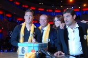 IPP/Botteghi 12/12/08 Roma trasmissione Affari Tuoi  per telethon ospite  Francesco Totti, Gigi D'Alessio Miriam Leone Max Giusti