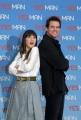 IPP/Botteghi presentazione del film YES MAN, nella foto: Jim Carrey e Zooey  Deschanel
