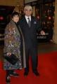 mattoni/markanews 18/04/08 roma passerella per i premi david di donatello, nella foto gigi magni con la moglie