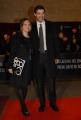 mattoni/markanews 18/04/08 roma passerella per i premi david di donatello, nella foto alessandro gassman con la moglie