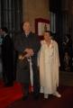 mattoni/markanews 18/04/08 roma passerella per i premi david di donatello, nella foto giuliano montaldo con moglie