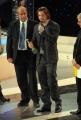 carlo mattoni/markanews 18/04/08 premio david di donatello silvio muccino premiato da federico moccia