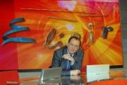 Mattoni  Nuova stagione della trasmissione di raitre Elisir nelle foto Michele Mirabella,