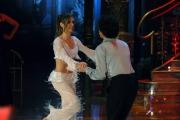 IPP/Botteghi 17/1/09 seconda puntata di BALLANDO CON LE STELLE, nella foto: Valentina Vezzali e Samuel Peron