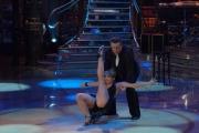 IPP/Botteghi 17/1/09 seconda puntata di BALLANDO CON LE STELLE, nella foto: Andrea Roncato e Vicky Martin