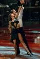 IPP/Botteghi 17/1/09 seconda puntata di BALLANDO CON LE STELLE, nella foto: Maurizio Aiello e Sara Di Vaira