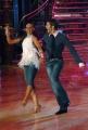 IPP/Botteghi 17/1/09 seconda puntata di BALLANDO CON LE STELLE, nella foto: Emanuele Filiberto e Natalia Titova