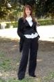 Foto IPP/Gioia Botteghi  Roma 24/04/2009  presentazione del film VALERIE; DIARIO DI UNA NINFOMANE, nella foto  l'autrice del libro dal quale è tratto il film, Valerie Tasso