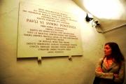 Foto IPP/Gioia Botteghi  Roma 25/05/2009 Basilica di S. Maria Maggiore, SOTTERRANEI DI SANTA MARIA MAGGIORE da oggi aperti al bubblico dopo importanti lavori di rinsaldamento della struttura mai visti prima ed ora fruibili a tutti i visitatori passando per il museo