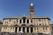 Foto IPP/Gioia Botteghi  Roma 25/05/2009 Basilica di S. Maria Maggiore, immagine dell'esterno
