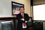 Foto IPP/Gioia Botteghi Roma 14/10/09  nuovo direttore del tg2 , Mario Orfeo, nel suo studio di Saxa Rubra