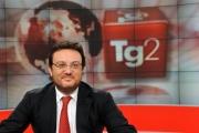 Foto IPP/Gioia Botteghi Roma 14/10/09  nuovo direttore del tg2 , Mario Orfeo, nel nuovo studio tv
