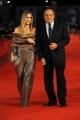 Foto IPP/Gioia Botteghi  Roma 15/10/2009  Festa del cinema di Roma, red carpet per il film TRIAGE, nella foto: Luigi Abete con la compagna