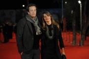 Foto IPP/Gioia Botteghi  Roma 15/10/2009  Festa del cinema di Roma, red carpet per il film TRIAGE, nella foto: Gabriele Muccino con fidanzata