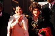 Foto IPP/Gioia Botteghi Roma 16/10/2009  Festa del cinema di Roma red carpet per evento FAO, nella foto Carla fracci e Gina Lollobrigida