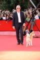 Foto IPP/Gioia Botteghi Roma 16/10/2009  Festa del cinema di Roma film _hachiko_ nella foto Richard Gere con il cane protagonista del film
