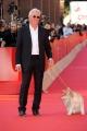 Foto IPP/Gioia Botteghi Roma 16/10/0209  Festa del cinema di Roma film _hachiko_ nella foto Richard Gere con il cane protagonista del film