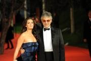 Foto IPP/Gioia Botteghi Roma 16/10/2009  Festa del cinema di Roma red carpet con Bocelli e la compagna Veronica Berti