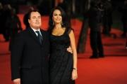 Foto IPP/Gioia Botteghi Roma 16/10/09  Festa del cinema di Roma red carpet Viola di Mare, nella foto Maria Grazia Cucinotta con marito
