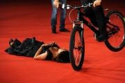 Foto IPP/Gioia Botteghi Roma 16/10/09  Festa del cinema di Roma red carpet Viola di Mare, nella foto maria grazia Cucinotta con Vittorio Brumotti