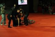 Foto IPP/Gioia Botteghi Roma 16/10/09  Festa del cinema di Roma red carpet Viola di Mare, nella foto Roberta Armani con Vittorio Brumotti