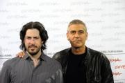 Foto IPP/Gioia Botteghi Roma 17/10/2009  Festa del cinema di Roma film  Up in the air____nella foto: Giorge Clooney con il regista Jason Reitman