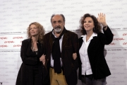 Foto IPP/Gioia Botteghi Roma 19/10/2009  Festa del cinema di Roma film  Chistine Cristina, nella foto la regista Stefania Sandrelli, la figlia Amanda e Gianfranco Aber