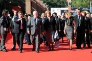 Foto IPP/Gioia Botteghi Roma 19/10/2009  Festa del cinema di Roma film  Popieluszko, red carpet con: Il sindaco Alemanno e Lech Walesa