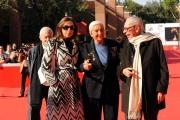 Foto IPP/Gioia Botteghi Roma 19/10/2009  Festa del cinema di Roma film  Popieluszko, red carpet co: Gian Luigi Rondi ,Maria Pia fanfani ,Isabella Rauti