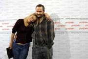 Foto IPP/Gioia Botteghi Roma 19/10/2009  Festa del cinema di Roma film  Les Regrets, nella foto Valeria Bruni Tedeschi con il regista Cedric Kham