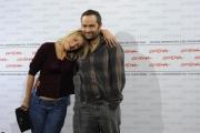 Gioia Botteghi Roma 19/10/2009  Festa del cinema di Roma film  Les Regrets, nella foto Valeria Bruni Tedeschi con il regista Cedric Kham