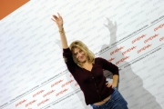 Foto IPP/Gioia Botteghi Roma 19/10/2009  Festa del cinema di Roma film  Les Regrets, nella foto Valeria Bruni Tedeschi