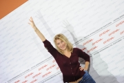 Roma 19/10/2009  Festa del cinema di Roma film  Les Regrets, nella foto Valeria Bruni Tedeschi