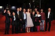 Foto IPP/Gioia Botteghi Roma 21/10/2009  Festa del cinema di Roma film Immota Manet, l'aquila bella mè, nella foto: cast degli attori di strada