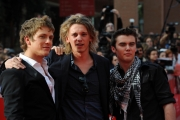 Gioia Botteghi Roma 22/10/09  Festa del cinema di Roma film  The Twilight Saga: New Moon con  Jamie Campbell Bower, Charlie Bewley, Cameron Bright