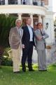Gioia Botteghi Roma 16/11/09 presentazione del film VALENTINO THE LAST EMPEROR, nella foto Valentino Garavani, Giancarlo Giammetti, Matt Tyrnauer,
