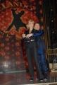 IPP/Botteghi 8/1/09  Roma presentazione del programma di raiuno BALLANDO CON LE STELLE, nella foto: Milly Carlucci e Paolo Belli