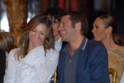 IPP/Botteghi 8/1/09  Roma presentazione del programma di raiuno BALLANDO CON LE STELLE, nella foto: Valentina Vezzali con il principe Emanuele Filiberto