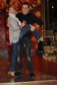 IPP/Botteghi 8/1/09  Roma presentazione del programma di raiuno BALLANDO CON LE STELLE, nella foto: Andrea Roncato, Vicky Martin