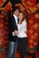 IPP/Botteghi 8/1/09  Roma presentazione del programma di raiuno BALLANDO CON LE STELLE, nella foto: Valentina Vezzali, Samuel Peron