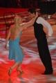 IPP/Botteghi 10/1/09 Roma tresmissione BALLANDO CON LE STELLE nella foto: Licia Nunez e Dima Pakhomov