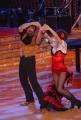 IPP/Botteghi 10/1/09 Roma tresmissione BALLANDO CON LE STELLE nella foto: Alessio Di Clemente e Alessandra Mason