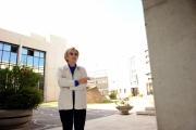 Foto IPP/Gioia Botteghi  Roma 3/06/2009 Emma Bonino a Saxa Rubra per il presidio permanente fuori dagli studi per una sigaretta