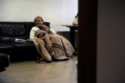 Foto IPP/Gioia Botteghi  Roma 3/06/2009 Emma Bonino a Saxa Rubra per il presidio permanebte nella saletta vip dove ha dormito palazzina a del tg1