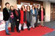 Foto IPP/Gioia Botteghi  Roma 12/01/10 Conferenza stampa di presentazione del film LA PRIMA COSA BELLA, nella foto il cast