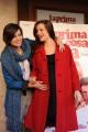 Foto IPP/Gioia Botteghi  Roma 12/01/10 Conferenza stampa di presentazione del film LA PRIMA COSA BELLA, nella foto Claudia Pandolfi, Micaela Ramazzotti