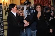 Foto IPP/Gioia Botteghi  Roma 13/01/2010 presentazione del film NINE, nella foto:, Sophia Loren, ed il regista Rob Marshall
