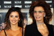 Foto IPP/Gioia Botteghi  Roma 13/01/2010 presentazione del film NINE, nella foto: Penelope Cruz,  Sophia Loren