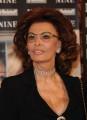 Foto IPP/Gioia Botteghi  Roma 13/01/2010 presentazione del film NINE, nella foto: Sophia Loren,