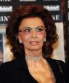 Foto IPP/Gioia Botteghi  Roma 13/01/2010 presentazione del film NINE, nella foto: Sophia Loren